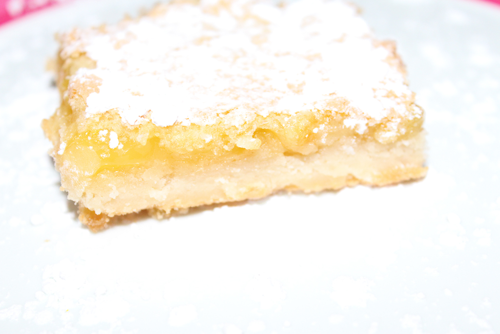 Meyer Lemon Bars ~ a Glow Up