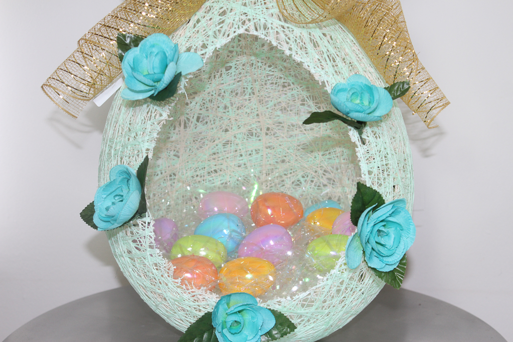 diy sugar spun easter basket