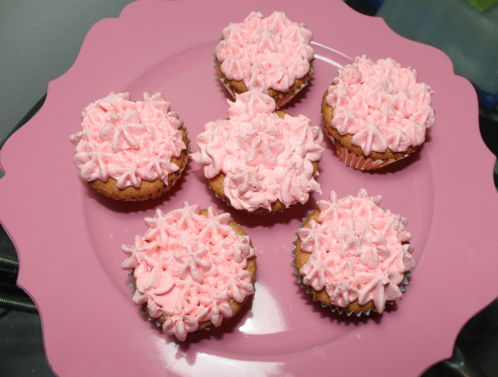 double strawberry cupcakes
