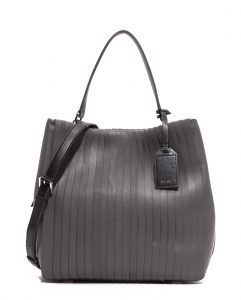 DKNY Pleated Bucket Bag